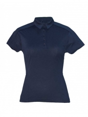 Night Blue Womens Polo T- shirt night blue s