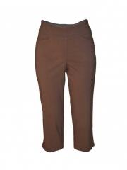 Alladin-Brown Womens Capri brown 18