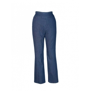 Dark Blue Womens Pull On Pant dark blue 28