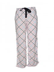Alladin-Pink Checked Women Pajama pink checked s
