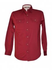 Alladin-Biking Red-Men's Long Sleeved Shirt biking red xl
