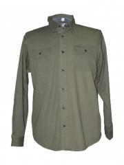 Alladin-Olive Green Mens Shirt olive green l