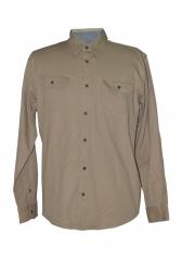 Alladin-Beige Mens Shirt beige m