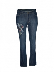 Alladin-Light Blue Womens Denim Pants light blue 8
