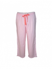 Pink Dotted Womens Pajamas pink dotted s