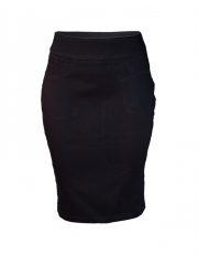 Alladin-Black Pencil Skirt black 10