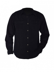 Alladin-Black long sleeved Men's Shirt black m