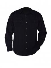Alladin-Black long sleeved Men's Shirt black s