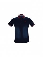 Alladin-Blue Mens soft Denim Polo Shirt blue s