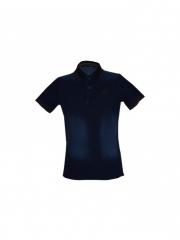 Alladin-Blue Mens soft Denim Polo Shirt blue m