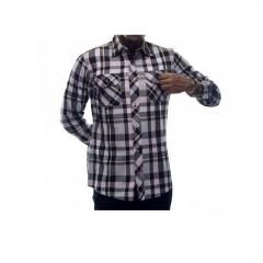 Alladin-Multicolored Checked Mens Shirt multicolored checked s