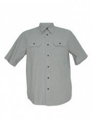 Alladin-Mint Green Mens Short Sleeved Shirt mint green l