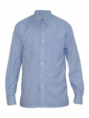 Alladin-Blue Checked Mens Shirt blue checked 36
