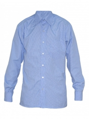 Alladin-Blue Checked Mens Shirt blue checked 36