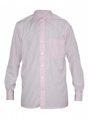 Alladin-Light Pink Stripped Mens Shirt light pink 36