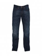 Alladin-Dark Blue Mens Straight Fit Denim Pants dark blue 30