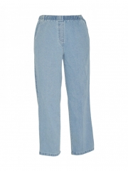 Alladin-Light Blue Womens Pull On Pant light blue 10