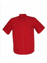 Alladin-Red Mens Short Sleeved Shirt red s