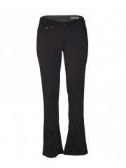 Alladin-Black Ladies Bootcut Pants black 3