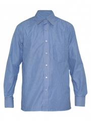 Alladin-Blue Stripped Mens Shirt blue stripped 36
