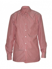 Alladin-Red Stripped Mens Shirt red stripped 36