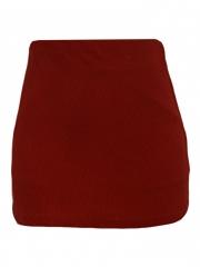 Alladin-Red Womens Mini Skirt red mini m