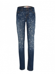 Alladin-Blue Womens Denim Pants blue 32
