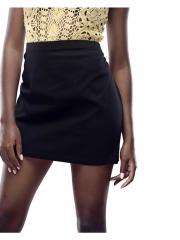Alladin-Black Womens Mini Skirt black s