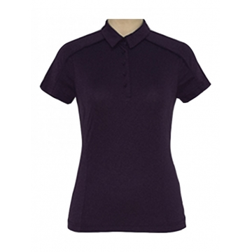 Alladin-Mulberry Short Sleeved Women Polo Shirt mulberry s