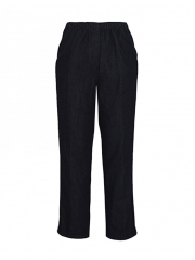 Alladin-Black Pull On Denim Womens Pant black denim 10