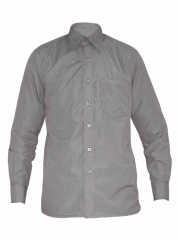 Alladin- Brown Checked Men Shirt brown checked 36