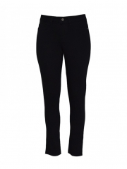 Alladin-Black Womens Skinny Pants black skinny 8