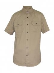 Alladin- Beige Mens Short Sleeved Shirt beige s