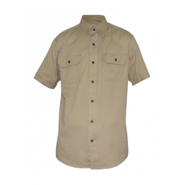Alladin- Beige Mens Short Sleeved Shirt beige s