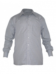 Alladin-Navy Checked Mens Shirt navy checked 38