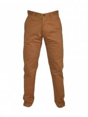 Alladin-Brown Mens Slim Fit Pants brown 30