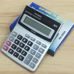 Medium-sized advertising calculator office accounting special calculator Silver