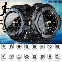 New Smart Watch Professional 5ATM Waterproof Bluetooth  Digital Outdoor Men Military Watches black one size