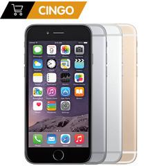 refurbished Apple iPhone 6 Plus IOS 16/64/128GB ROM IPS 8.0MP 4G LTE Fingerprint unlock smart phone gray 16g without fingerprint