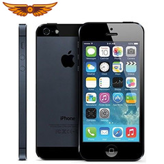 Original Apple iPhone 5  IOS Touch ID Factory Unlocked smart phone (refurbished) silvery 16g