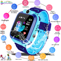 Smart watch LBS Kid SmartWatches Children SOS Call Location Finder Locator Tracker Anti Lost Monitor pink one size