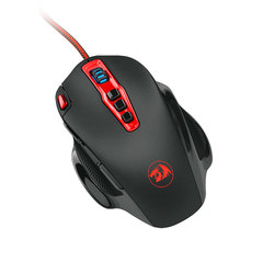 Redragon M805 Gaming Mouse 14400 DPI 10 Buttons Ergonomic Programmable Mice black M805