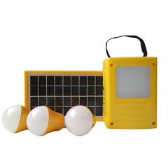 3W Solar Portable Home System YELLOW 250x100x170mm 3