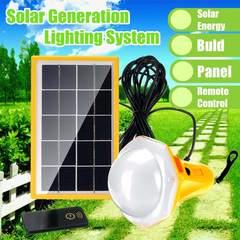 Solar Power Panel Generator Kit orange 230x140x150mm 3.5