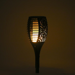 33LED Solar Torch Light black 330x130x130mm 1.2