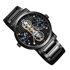GUANQIN GJ16103 Multifunctional Tourbillon Auto Mechanical Men Watch