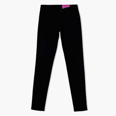 Girls Black Jeans Pants Comfortable Stretchy Skinny Fit - 9,10,11,12 Years black 9-10 Years