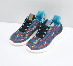Printed Sports Shoes blue Euro 31