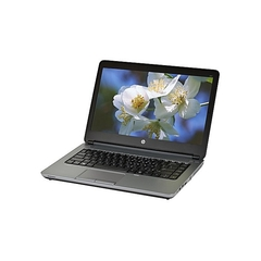 Hp Refurbished Probook 640 G1 4GB 320GB SSD Installed OS black 14 inches