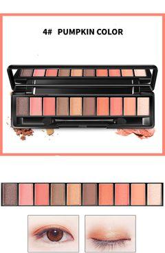10 Colors Make Up Eye Shadow Fashion Matte Glitter Pigments Nude Eyeshadow 4#